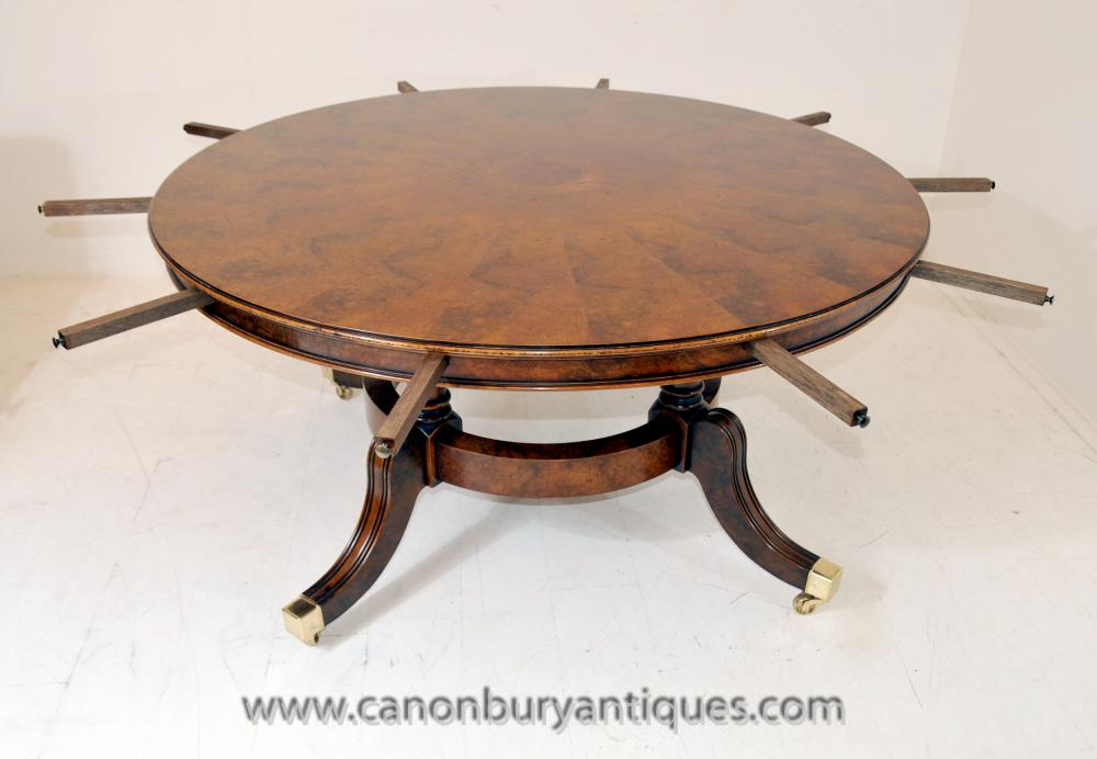 Extending dining table archives antique dining tables for Buy round table