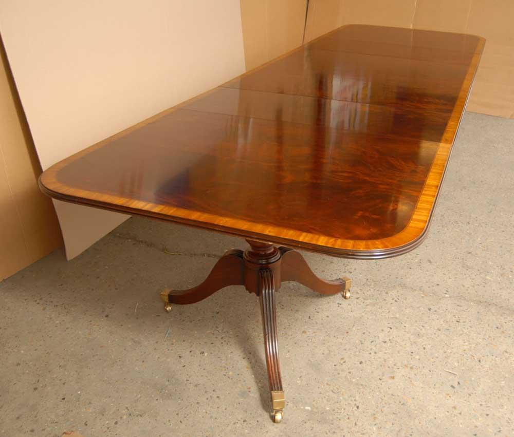 16 ft English Regency Pedestal Dining Table Tables Diner