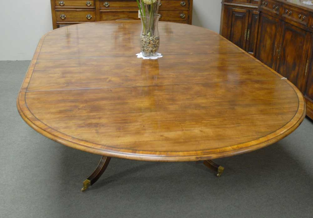 8 foot French Rustic Extending Dining Table