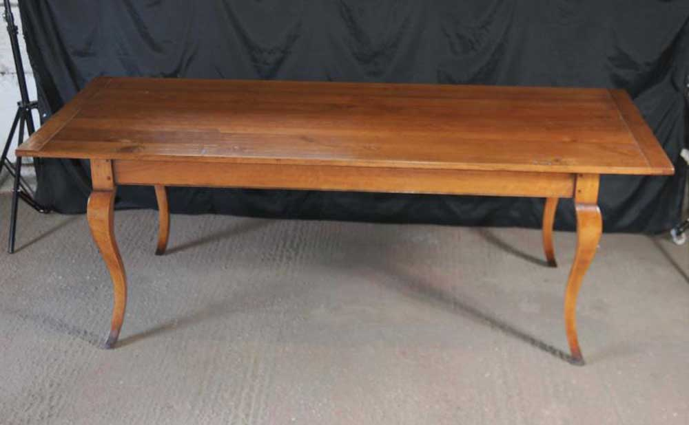 Kitchen Refectory Table Farmhouse Tables Cherry Wood